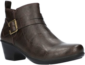 Easy Street Shoes Block-Heel Booties - Hester
