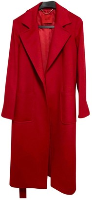 Max & Co. Red Wool Coat for Women