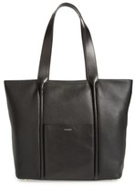 Skagen Large Lisabet Leather Tote - Black