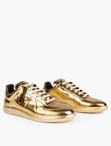 Maison Margiela Gold Limited Edition Replica Sneakers