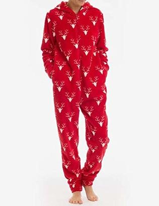 Joe Boxer Women's Grandmas Knit Onesie Sleepwear