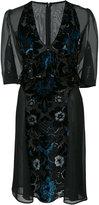 Anna Sui Arabesque velvet dress