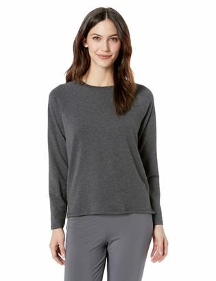 Mae Amazon Brand Women's Raglan Long Sleeve Top