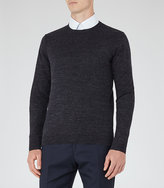 Reiss Parker Melange Cotton Jumper