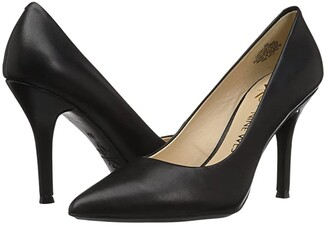 Nine West Fifth9x9 Pump (Black Leather/Leather) Women's Shoes