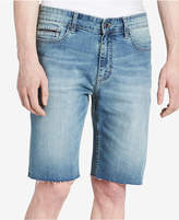 "Calvin Klein Jeans Men's Stretch Silver Bullet Cutoff Denim 10.5"" Shorts Created for Macy's"