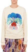Christopher Kane Sequinned Pansy Sweatshirt