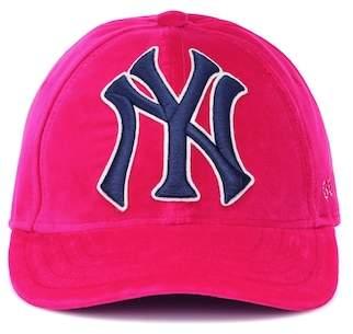 73eee3eefad Gucci NY Yankees velvet baseball cap