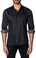 Jared Lang Long Sleeve Solid Slim Fit Shirt