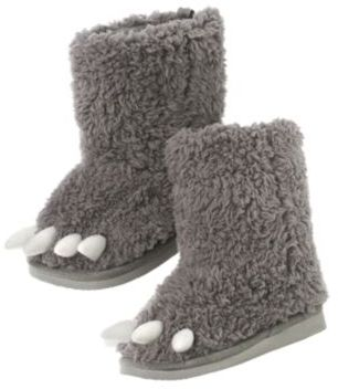 Crazy 8 Dino Claw Faux Fur Boot