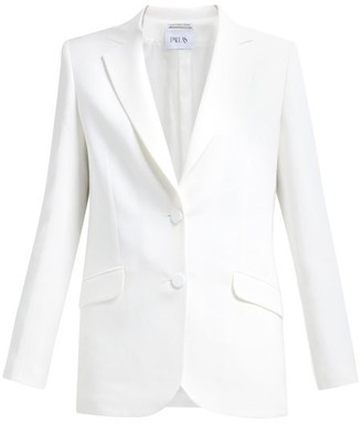 Pallas Paris - Episode Single-breasted Crepe Blazer - White