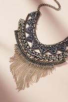 Anthropologie Rocker Fringe Necklace