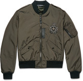 Dolce & Gabbana - Embellished Shell Bomber Jacket