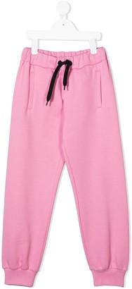Fendi Kids Logo Print Track Trousers
