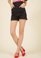 Collectif High-Rise Above the Rest High-Waisted Shorts in XXL