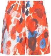 Alexander McQueen floral print swim shorts