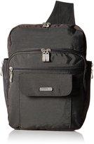 Baggallini Luggage Messenger Bag, Charcoal, One