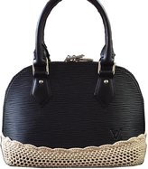 Louis Vuitton Crochet Base Covers Louis Alma BB Beige
