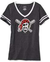 Old Navy MLB® Team-Graphic V-Neck Tee for Women