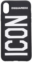 Dsquared2 Iphone / Ipad Case In Black Pvc
