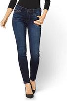 New York & Co. Soho Jeans - Curvy Legging - Blue Tease Wash - Petite