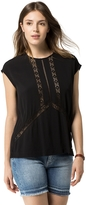 Tommy Hilfiger Final Sale-Lace Accent Sleeveless Top