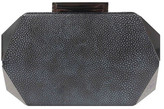 Sondra Roberts Stingray Print Metal Clutch
