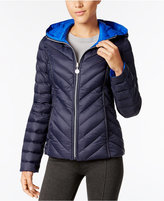 Nautica Reversible Hooded Packable Puffer Coat, Only at Macy's