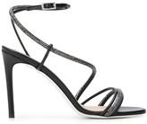 Grey Mer embellished strappy sandals