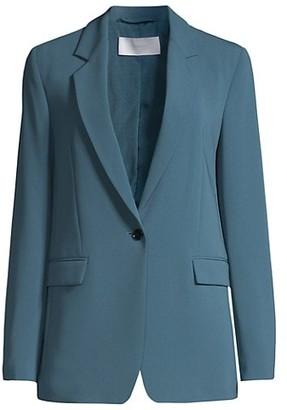 HUGO BOSS Jocalua2 Modern Crepe Boyfriend Jacket