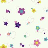 York Wall Coverings York wallcoverings Disney's Flower & Hearts Removable Wallpaper