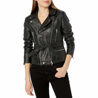 French Connection Women's Clare Leather Jacket