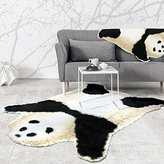 Kids Panda Bear Playmat Animal Panda Rug for children bedroom playroom living room (Panda, 5'x6.2'(150x190cm))