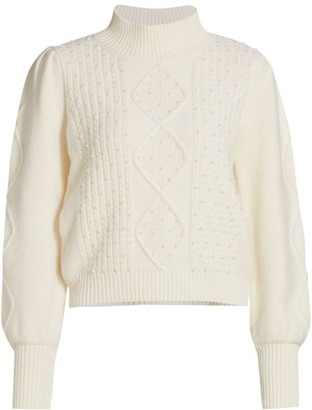 Generation Love Aspen Pearl Embellished Sweater