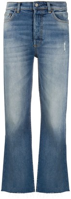 Boyish The Brady cropped flared jeans