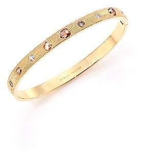 De Beers Women's Talisman Core Diamond & 18K Yellow Gold Bangle Bracelet