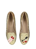 Chiara Ferragni Nail Polish Glitter Loafers Loafers