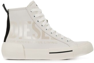 Diesel Lace Up High Top Sneakers
