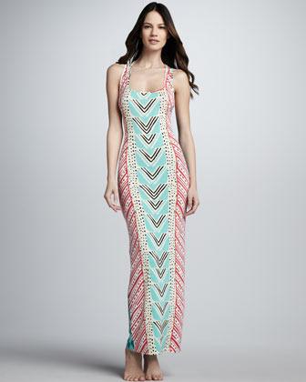 Mara Hoffman Luau Printed Mai Tank Dress