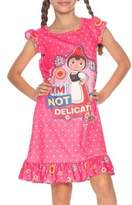 Sherlock Gnomes Little Girl's and Girl's Juliet Gnome Ruffle Nightgown