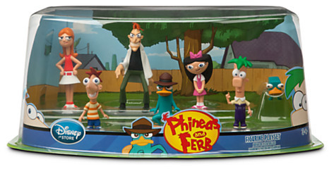 Disney Phineas and Ferb Figure Play Set