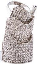 Eddie Borgo Crystal Hinge Ring