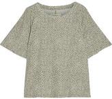Current/Elliott The Roadie Leopard-print Cotton-jersey T-shirt - Leopard print