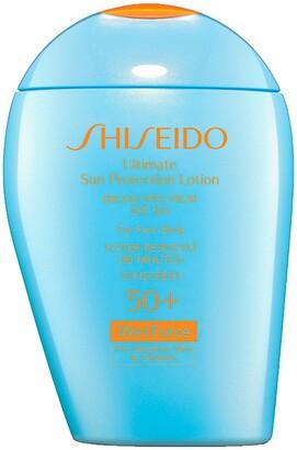 Shiseido Ultra Sun Protection Lotion Broad Spectrum SPF 50+ WetForce for Sensitive Skin & Children