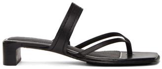 Rag & Bone Black Colt Heeled Sandals