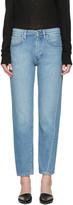 Totême Blue Original Denim Jeans