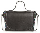 BP Studded Mini Faux Leather Crossbody - Black
