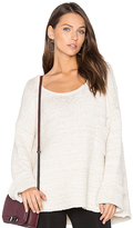 JOAH BROWN Oversized Sweater in Ivory.