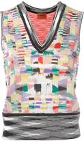 Missoni knit tank top - women - Polyester/Viscose - 40