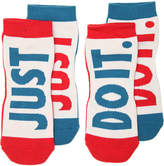 Nike Just Do It No Show Socks - 2 Pack - Men's